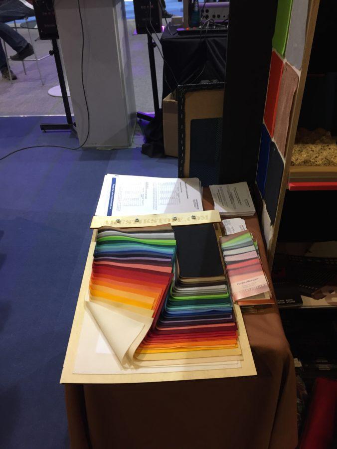 Akustikstoff.com @ Musikmesse 2017 – Great colours on display