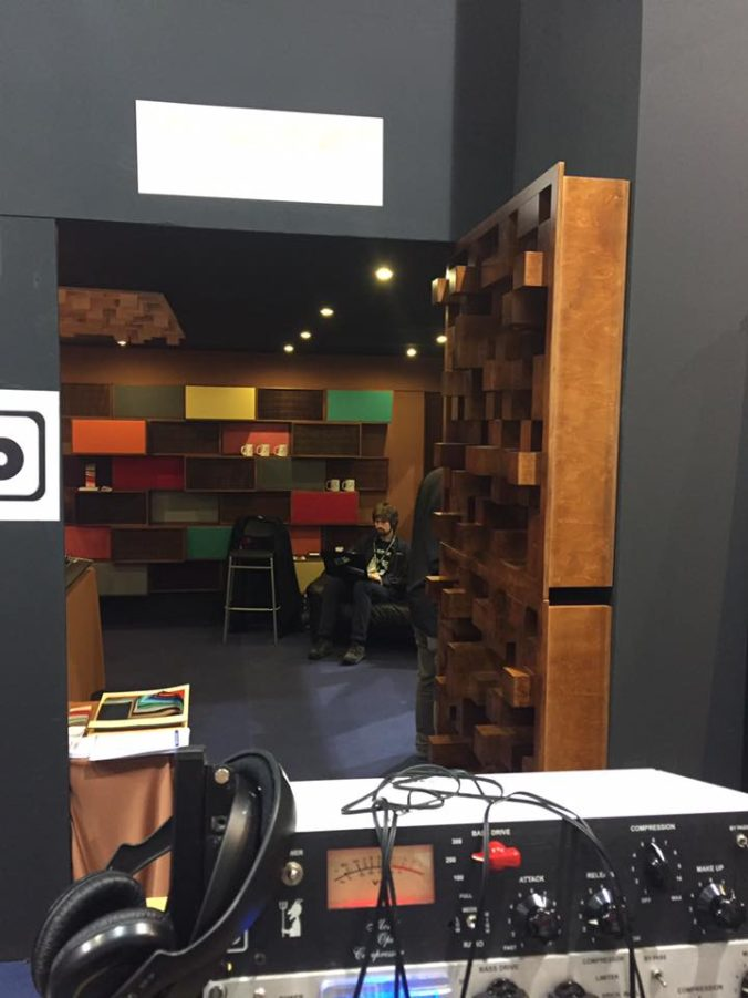 Akustikstoff.com @ Musikmesse 2017 – Outside view of the fair booth