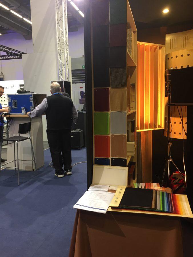 Akustikstoff.com @ Musikmesse 2017 – Our acoustic fabrics on display