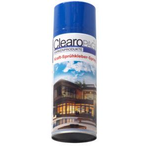 Transparenter Sprühkleber - transparent spray adhesive