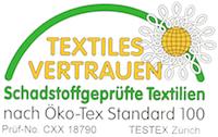 ÖkoTex-Siegel für Akustikstoff.com